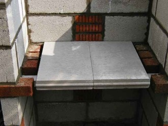 Construction d 39 un barbecue for Table beton cellulaire