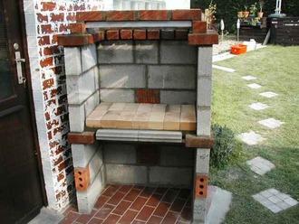 construction d 39 un barbecue. Black Bedroom Furniture Sets. Home Design Ideas