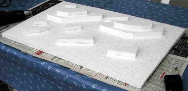 D cor de fond externe en polystyr ne expans - Coller du polystyrene ...